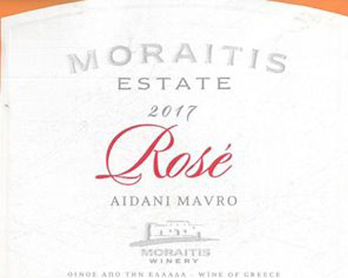 MORAITIS ESTATE ROSE